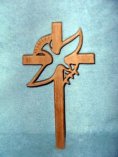 cross and dove - Scroll Saw Woodworking & Crafts Photo Gallery                                                                                                                                                      Más