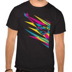 CMYK Crystal S-Shield & Superman T Shirt