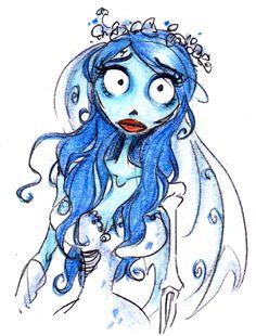 Corpse Bride : Emily - David Gilson