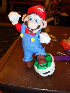 Picture of Super Mario Brothers Polymer Clay Sculpture