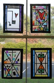 Create Art With Me!: To Brighten Your Day: Frank Lloyd Wright Windows