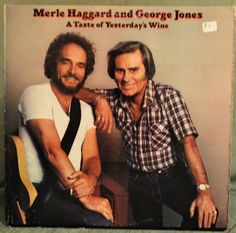 A personal favorite from my Etsy shop https://www.etsy.com/listing/266298782/merle-haggard-and-george-jones-a-taste