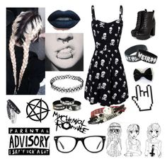 """xx"" by xshadowbunnyx ❤ liked on Polyvore featuring CO and Muse"
