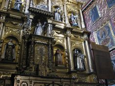 Bogotá: Iglesia de Santa Clara    The beautiful Baroque Iglesia de Santa Clara was the church of the convent of the Poor Clare Sisters in the heart of colonial Bogotá. It was built between 1629 and 1635.