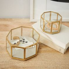 Glass Shadow Boxes - Octagon