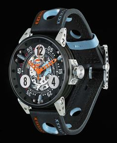 BRM Gulf Racing Watch Collection - Luxuryes