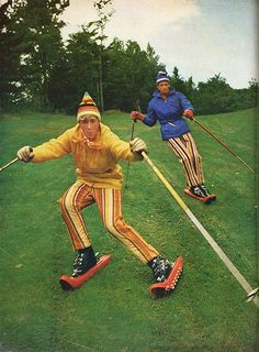 but if the Turf Skis in fact fail to catch on, I'll still have the fashion-forward slacks to make my fortune with.