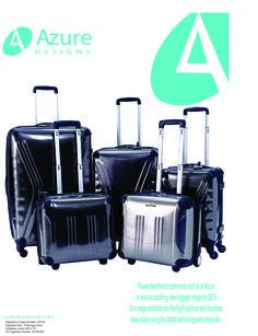 Azure luggage