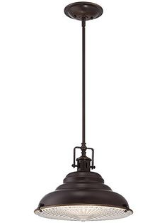 """Eastvale Large Pendant in Palladian Bronze -- house of antique hardware 14 1/2"""" wide $198.90"""