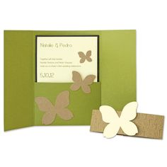 A7 Card-Center Foldout with Pocket Steel-Rule Die   AccuCut Craft