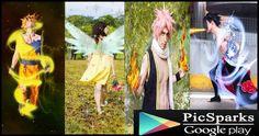 Anime photo editing
