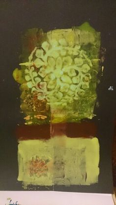 Gelliprint 4 Asparagus, Clay, Vegetables, Studio, Painting, Food, Art, Clays, Craft Art