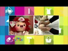 Passo a Passo - Boneca Raggedy Ann - Millyta e Fabricart Tecidos - YouTube
