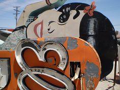 ~Debbie Jackson:  China Garden sign in Las Vegas' Neon Boneyard Museum .. a must-see!