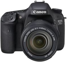 Canon EOS 7D SLR (Black, with Kit I (EF-S 15-85IS)) - Rs. 128035