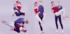Bringing you 10 poses this time, more enhanced. •poses with andrews poseplayer •poselist preview included •poses fits properly when both sim are the same heigh!! download site •this posepack is...