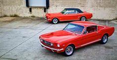 Obelisco Classic Car Club Cali Colombia: Revology: la réplica del mítico Ford Mustang