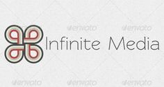 Infinite Media Logo Template by andrewkremenchuk Modern Logo Template for media site or company. This design is resizable and fully editable. Font used: Redressed ( http://www.fon