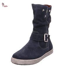 Rieker Kinder K5275, Bottes Fille, Bleu (Pilot), 39 EU - Chaussures rieker (*Partner-Link)