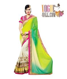 ### DESIGNER BRIDAL WEAR SAREE ###