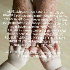 Te amo abuelita lupe♡♡♡♡