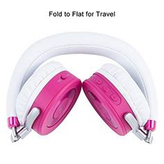 52d7d3dd1d2 Amazon.com: Puro Sound Labs JuniorJams On-Ear Headphones Wireless Foldable  Kids Earphones with Bluetooth, Volume Limiting, Lightweight and Noise  Isolation ...