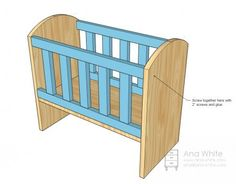 To Make: Crib for Bitty Baby