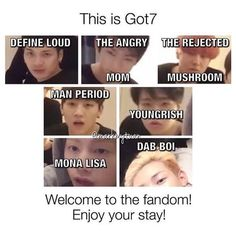 GOT7 | Welcome to the fandom