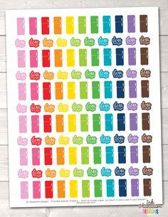 Clean Fridge Functional Printable Planner Stickers – Erin Bradley/Ink Obsession Designs