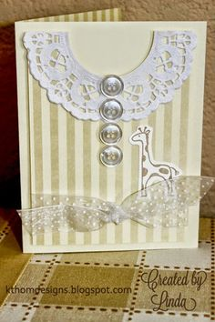 PIN IT FRIDAY FAVS:Baby Card and More* Pinned from KT Hom Designs Blog