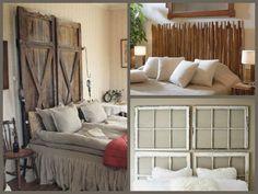 34 ideas de cabeceros de cama originales que puedes hacer tú mismo (DIY) - Trucos de bricolaje Ideas Para, Sweet Home, Entryway, Bedroom, Inspiration, Furniture, Design, Internet, Home Decor