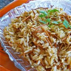 Ann's Rice Pilaf Recipe - would be perfect for trying to make Hermann Sons Chicken Santa Cruz