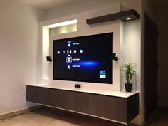 Tv in wall