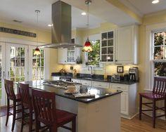Kitchen & Addition - traditional - kitchen - dc metro - by David Vogt - Case Design/Remodeling Inc.