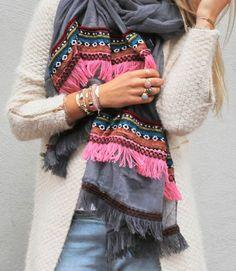 Aztec sjaal #aztec #sjaal #aztec #scarf #aztec#print