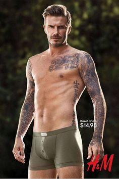 David Beckham Is the Underwear Model of the Century