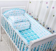 2016 new 6 Pcs/sets cartoon breathable crib liner cotton crib bumper baby cot sets baby bed protector baby bedding bumper Coral Baby Bedding, Baby Girl Crib Bedding, Baby Bedding Sets, Crib Bedding Sets, Baby Cribs, Baby Cot Sets, Bed Protector, Punk Baby, Baby Bumper