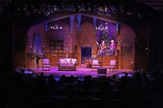 The Game's Afoot. The New Theatre. Set design by Jason Coale. 2012