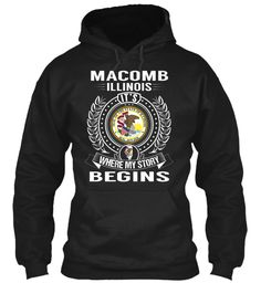 Macomb, Illinois - My Story Begins