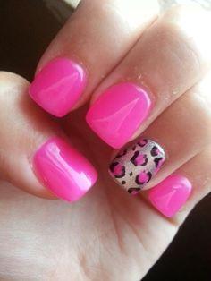 Hot pink leopard print!!