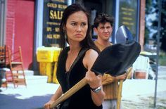 Sydney Fox (Tia Carrere) and Nigel Bailey (Christien Anholt) in the TV series 'Relic Hunter' 37592284 Tia Carrere, Relic Hunter, Female Fighter, Ancient Mysteries, Her Brother, One In A Million, Face And Body, Asian Woman, Tv Shows
