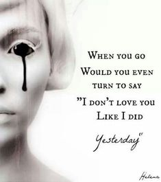 I Don't Love You ~ My Chemical Romance Fan Art