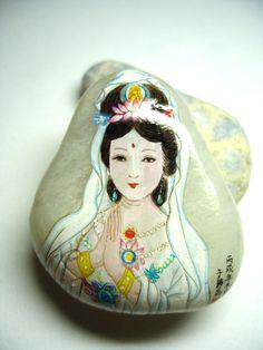 石头上的绘画 - painted rock /stone
