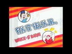 1982 Litwak's Arcade Commercial featuring the original Fix-It Felix, Jr. Game.