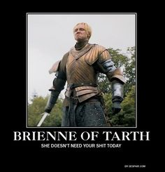 Brienne of Tarth!! Is anybody else counting down the hours to the season premiere??!!?