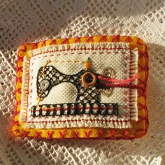 Needle Book -  Sewing Machine