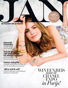 Hannah Hoekstra | Cover JAN Magazine 6-2013