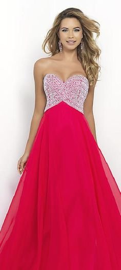 Cute Chiffon Red A-Line Strapless Evening Dresses Sale prom dress prom dresses lkxdresses52636dfjhty #prettydresses #promdress