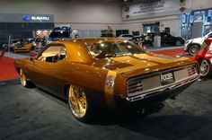 1970 Plymouth Barracuda – Terracuda Built By Chip Foose Muscle Cars Vintage, Custom Muscle Cars, Custom Cars, Plymouth Barracuda, Chip Foose, Pontiac Gto, Chevrolet Camaro, Mustangs, Car Guide