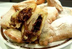 bugie ripiene nutella chiacchiere frittelle dolci di carnevale ricette